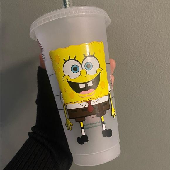 Spongebob Starbucks cold cup